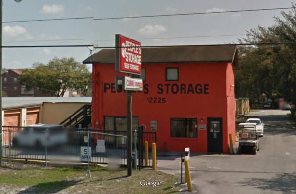 Peoples Storage II - 12225 North 56th Street, Tampa FL 33617 - Road Frontage · Storefront