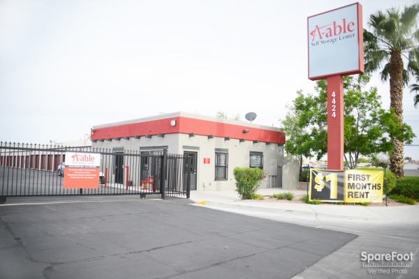 A-Able Storage - 4424 San Mateo Street, North Las Vegas NV 89031