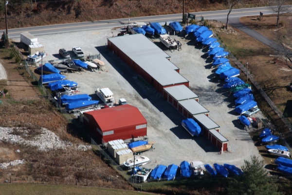 Lake Glenville Storage - 5373 Highway 107, Glenville NC 28736 - Aerial View