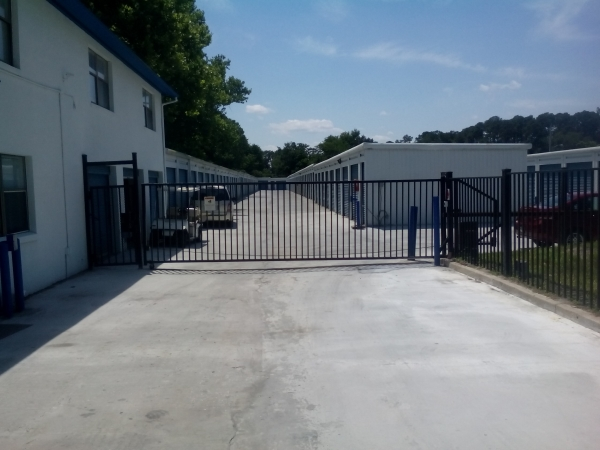 Atlantic Self Storage - Old Normandy - 8204 Normandy Boulevard, Jacksonville FL 32221 - Security Gate