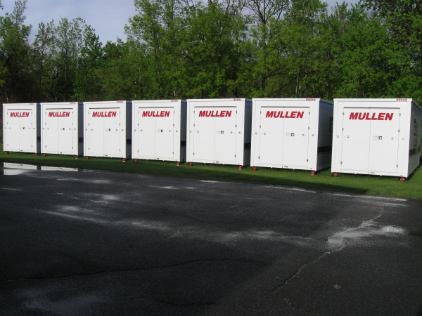 Mullen's Minis, Inc. - 4 Mccrea Hill Road, Ballston Spa NY 12020 - Drive-up Units · Driving Aisle