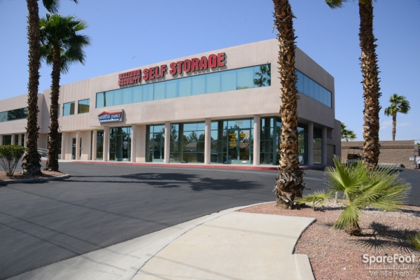 Maximum Security Self Storage - 8100 West Charleston Boulevard, Las Vegas NV 89117