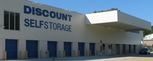 Discount Self Storage - 900 E 70th St, Shreveport LA 71106 - Storefront