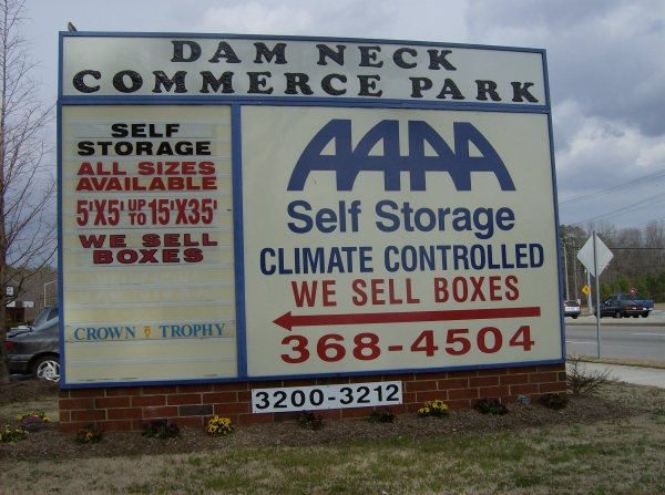 AAAA Self Storage - Virginia Beach - Dam Neck Rd. - Photo 2