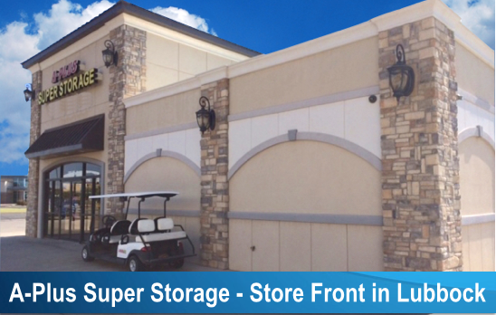 A-Plus Super Storage- 82nd - 2415 82nd Street, Lubbock TX 79423
