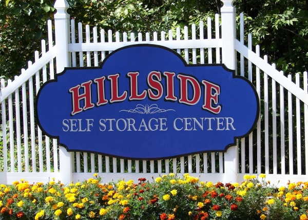 Hillside Self Storage Center - 132 Route 6, Andover CT 06232 - Signage