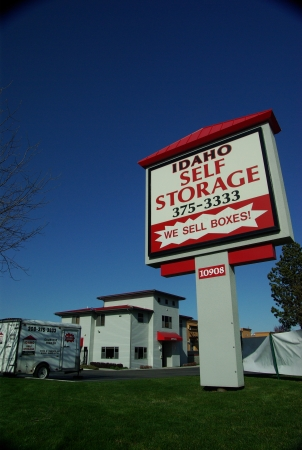 Idaho Self Storage - Fairview - 10908 W Fairview Ave, Boise ID 83713 - Signage