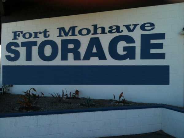 Fort Mohave Storage - 4144 Arcadia Lane, Fort Mohave AZ 86426 - Signage
