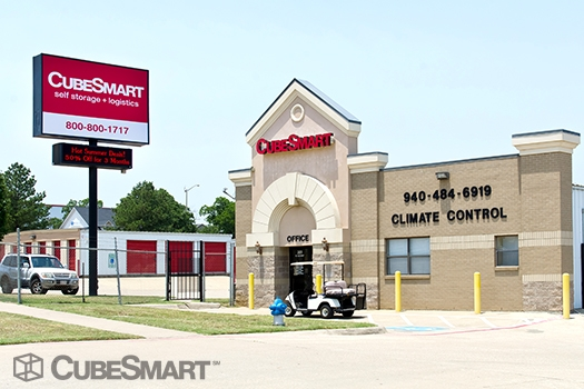CubeSmart Self Storage - 201 South I-35 East, Denton TX 76205