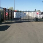 National Self Storage-Sacramento - 2600 Evergreen Ave, West Sacramento CA 95691 - Security Gate