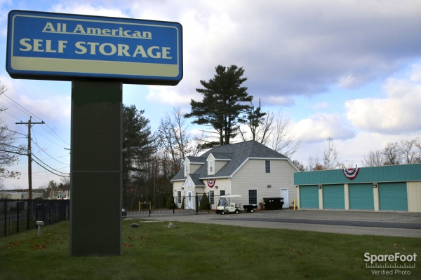 All American Self Storage - Methuen - 255 Hampstead St, Methuen MA 01844 - Signage