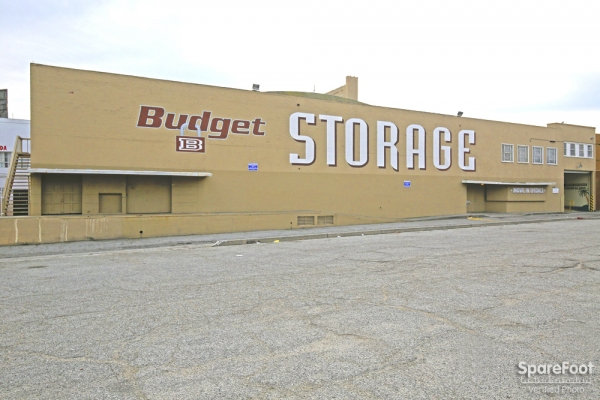 Budget Self Storage, Los Angeles - 4411 W Slauson Ave, Los Angeles CA 90043 - Storefront · Signage