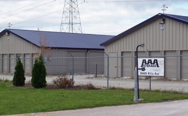AAA Storage - 21400 Allis Ave, Franksville WI 53126 - Security Gate · Drive-up Units