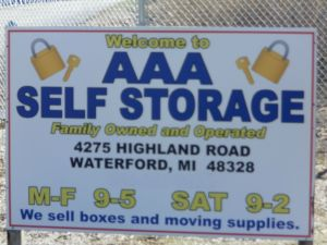 AAA Mini Storage - Waterford Township - 4275 Highland Road & 15 Cheap Self-Storage Units Waterford Township MI w/ Prices from ...
