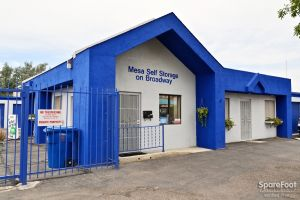 Mesa Self Storage on Broadway