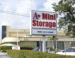 A+ Mini Storage - Airport East. 1851 Delaware Parkway Miami FL ... & 10 Cheap Boat Storage Units Miami FL (w/ Pictures) | SpareFoot